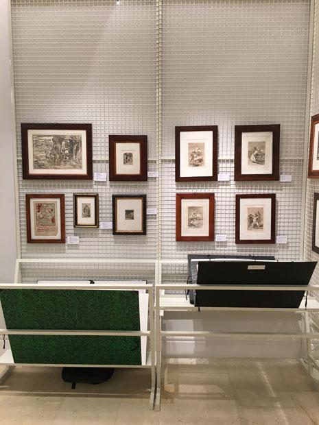 GABINETE. Feria del Dibujo y de la Estampa. Real Academia de Bellas Artes de San Fernando. MADRID. 2017 () - 25 Mayo, 2017 - 28 Mayo, 2017