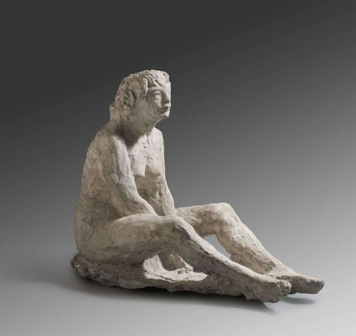 Naked woman () - Ca. 1908-1911 - [Catalonia, XX, Policromed plaster]