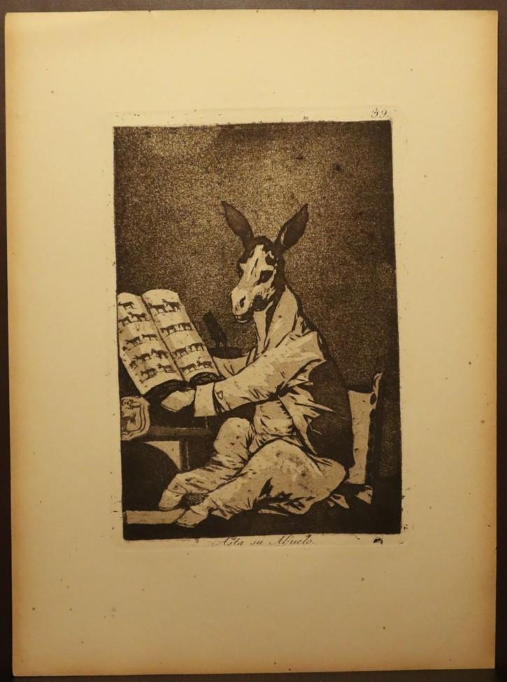 Asta su abuelo. Goya Lucientes, Francisco de - Calcografía Nacional. 1797-1799, 5ª edición (1881-1886)