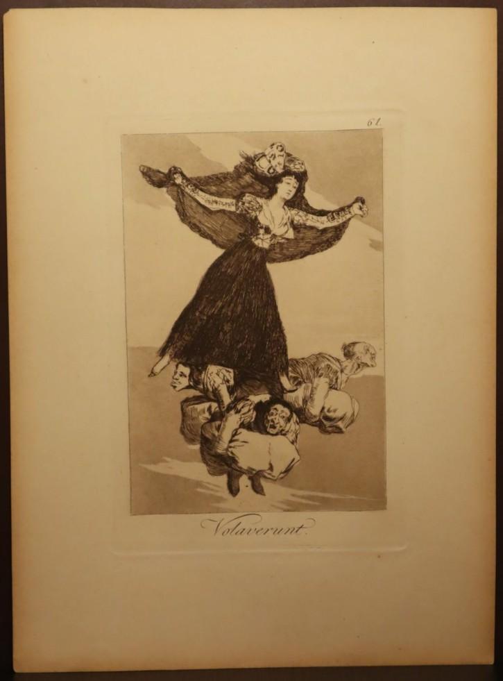 Volaverunt. Goya Lucientes, Francisco de - Calcografía Nacional. 1797-1799, 5ª edición (1881-1886)