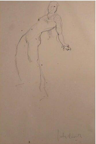 Estudio de mujer desnuda