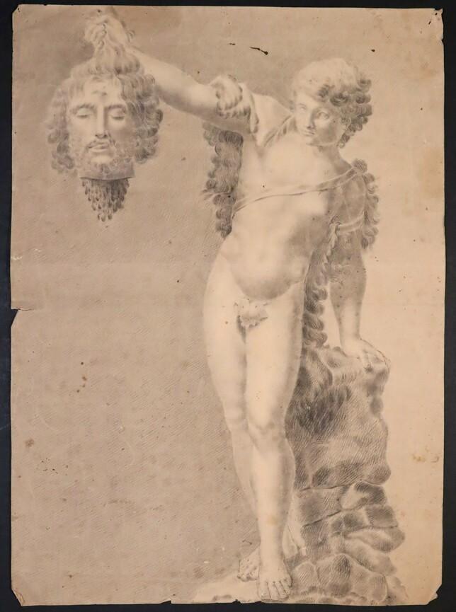 David y Goliat. Anónimo. Inicios sigloXIX. Precio: 500€