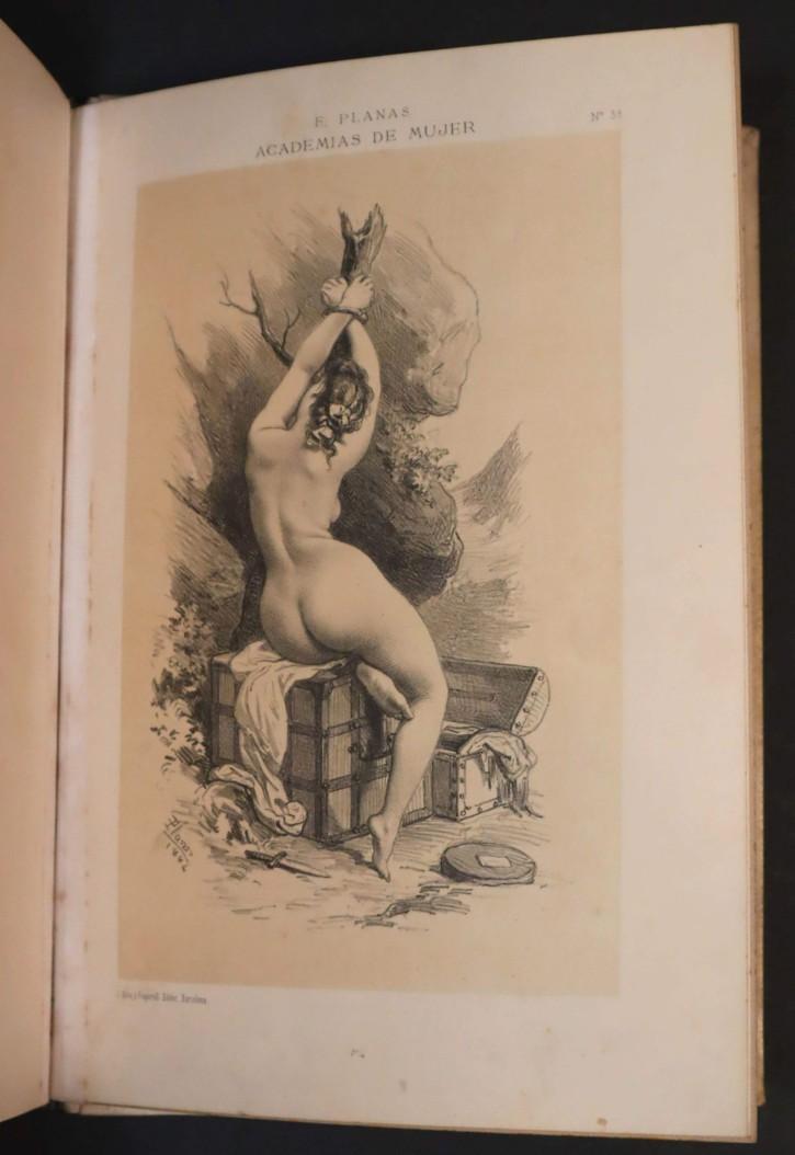 """Libro """"Academias de Mujer"""". Planas, Eusebi - Aleu, J. y Frugarull. 1883-1884. Precio: 5000€"""